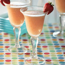 Strawberry-Peach or Banana-Peach Daiquiri