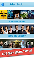 Screenshot of Guess the Movie Hollywood Game