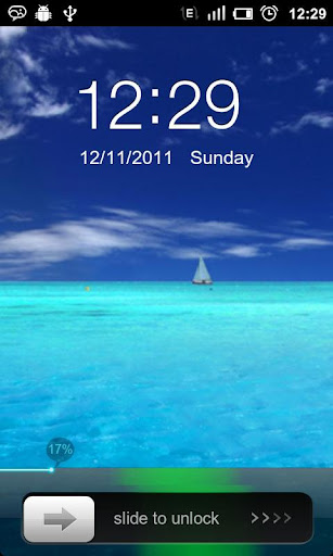 GO Locker Iphone Sea Theme