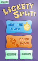 Screenshot of Lickety Split Lite