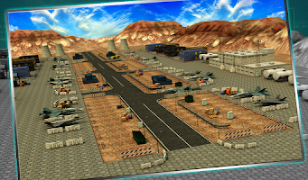 Screenshot of Jet Fighter Parking 3D