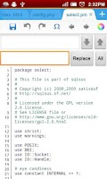 Screenshot of 920 Text Editor
