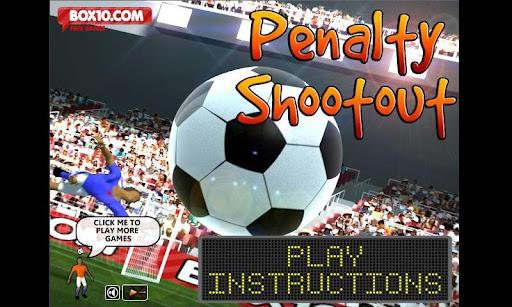 Penalty ShootOut football game