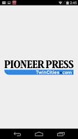 Screenshot of St. Paul Pioneer Press