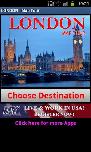 ロンドン地図ツアー