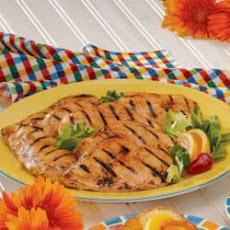 Maple Barbecued Chicken