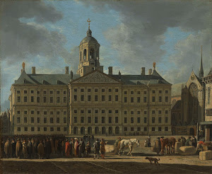 RIJKS: Gerrit Adriaensz. Berckheyde: The Town Hall on Dam Square, Amsterdam 1672