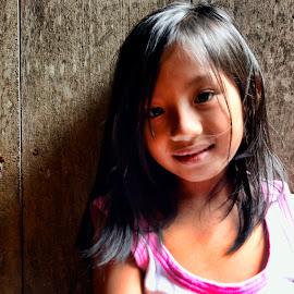 A S H L E Y ! by Jerome Mojica - Babies & Children Child Portraits ( people, portrait, emotion, human )