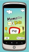 Screenshot of Memoflip Kids
