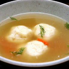 Bertha's Matzo Ball Soup