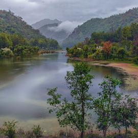 Nature Canvas 5 by Deepak Goswami - Landscapes Mountains & Hills ( renuka lake, tamron 17-50, natural lake, lake, india, landscape, nikon d7000, himachal )