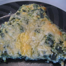 Five-Cheese Spinach Quiche
