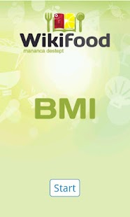 Wikifood BMI - screenshot
