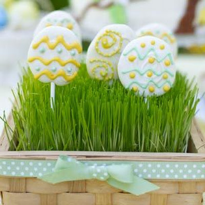 Easter Egg Lollipops