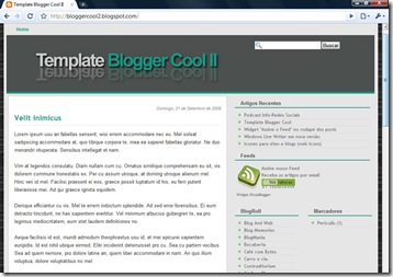 Blogger Cool II