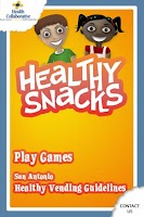Screenshot of Healthy Snacks