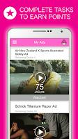 Screenshot of JAG Watch Ads Earn Rewards