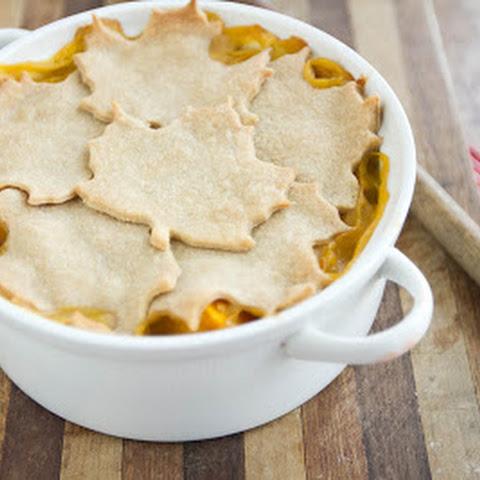 Butternut Squash and Lentil Pot Pie Rezept | Yummly