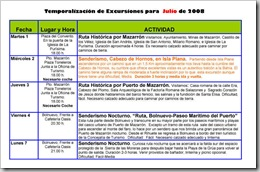 PROGRAMACIÓN SERVICIO DE OCIO 2008-1