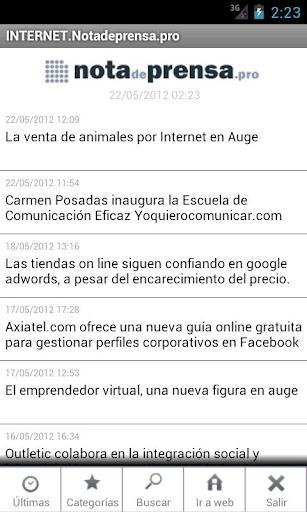 Notadeprensa.pro - Internet
