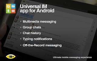 Screenshot of IM+ Pro