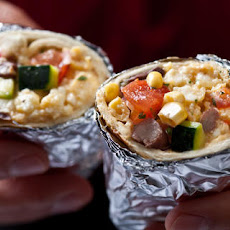 Vegetarian Breakfast Burritos Recipe