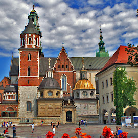 Wawel Cathedral,Crakow-Poland by Darko Kordic - Buildings & Architecture Places of Worship