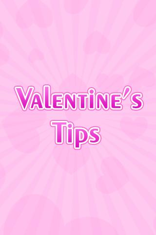 Valentine's Day Tips