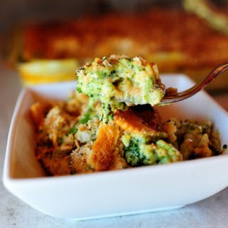 Broccoli Cheese Casserole With Velveeta And Ritz Crackers Recipes