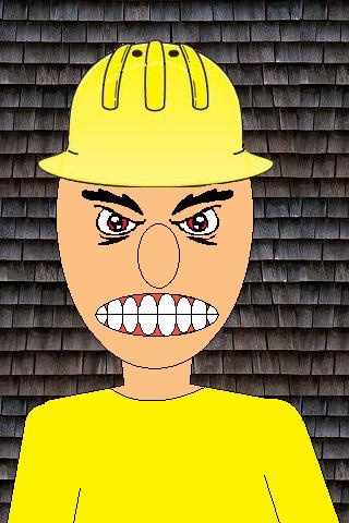 Angry roofers