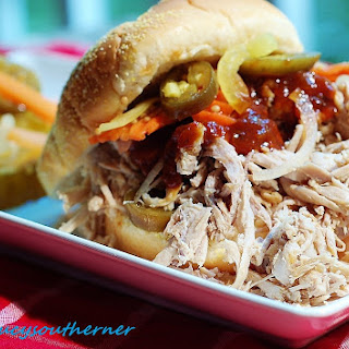 Slow-Cooker Carolina-Style Pulled Pork (Crock-Pot Recipe Five Ingredient Friday)