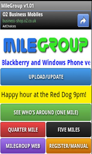 MileGroup for Android
