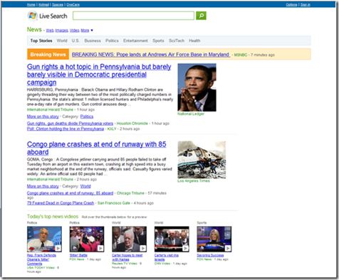 Nuevo Live Search News