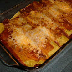 Easy Veggie Enchiladas With Quick Sauce