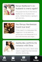 Screenshot of Malayalam Cinema News