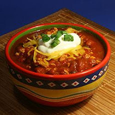 Simple Turkey Chili