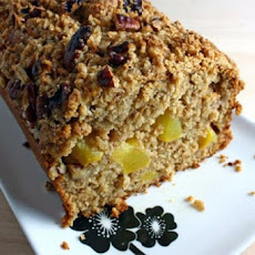 Nutty Peach Quick Bread