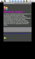 Screenshot of Mi Horoscopo Diario