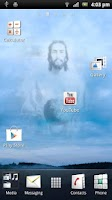 Screenshot of Jesus Live Wallpaper