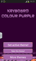 Screenshot of Keyboard Colour Purple