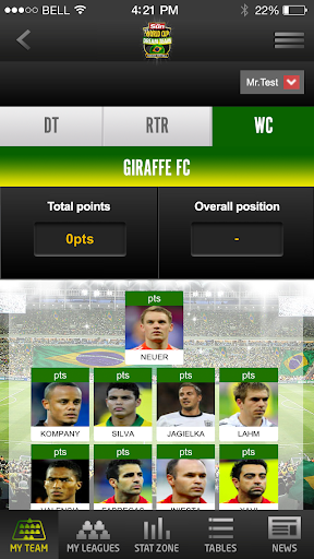 dream-team for android screenshot