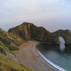 Durdle Door by Gaurav Dhup - Instagram & Mobile Other ( landmark, travel )
