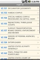 Screenshot of USC T.28 Judiciary&Judicial P.