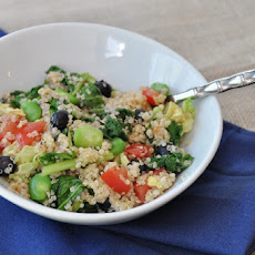 Fava Bean and Quinoa Salad