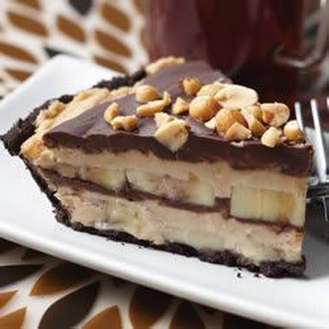 Frozen Chocolate Peanut Butter Banana Pie Recipes | Yummly