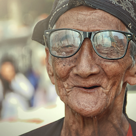Mbah by Lay Sulaiman - People Portraits of Men