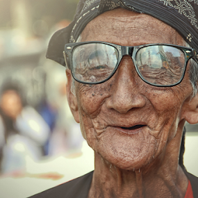 Mbah by Lay Sulaiman - People Portraits of Men (  )
