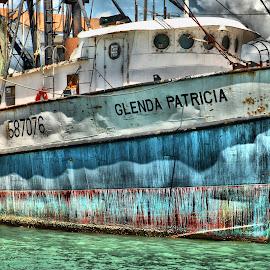 Glenda by Carlos Castañeda - Transportation Boats ( water, sea, ocean, boat, south padre island )