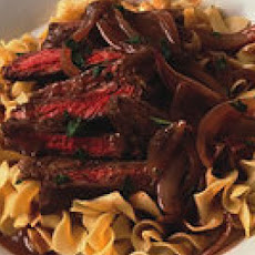 Skirt Steak Sauerbraten