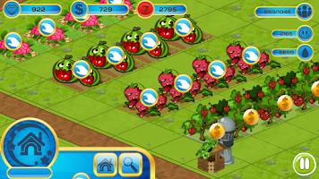 Screenshot of Fruit Zombie Farm